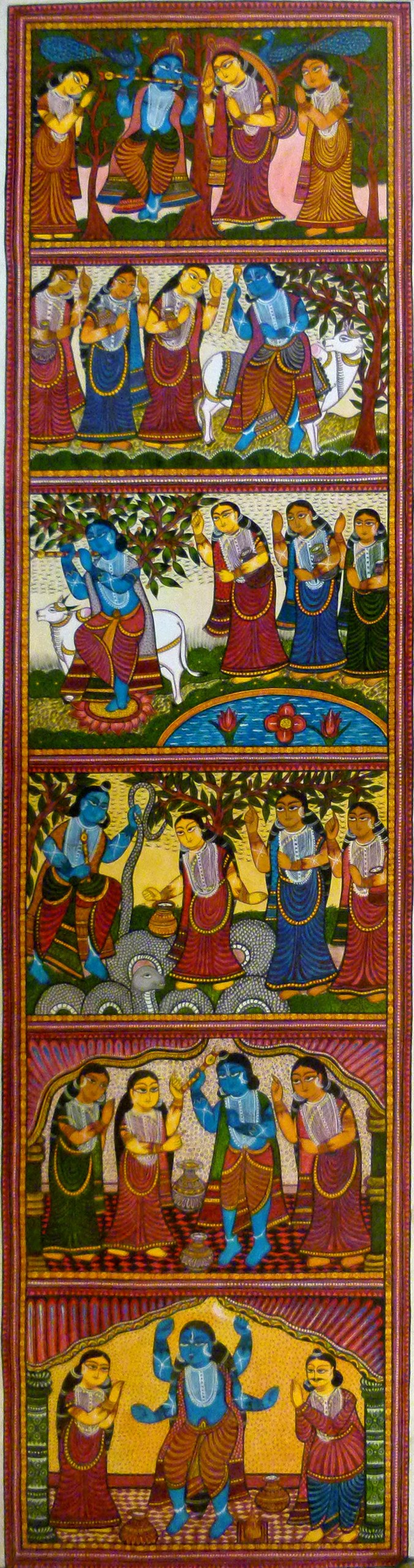 Bengal Scroll Painting