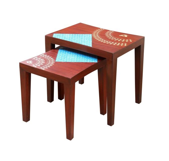 Dwirupa Nesting Table